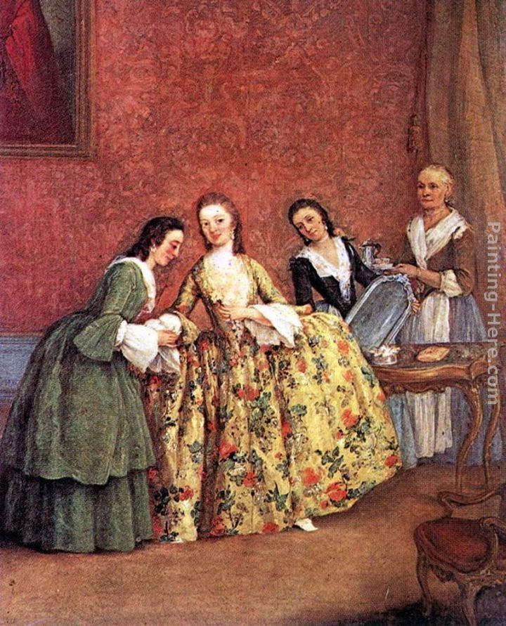 Pietro Longhi The Venetian Lady's Morning