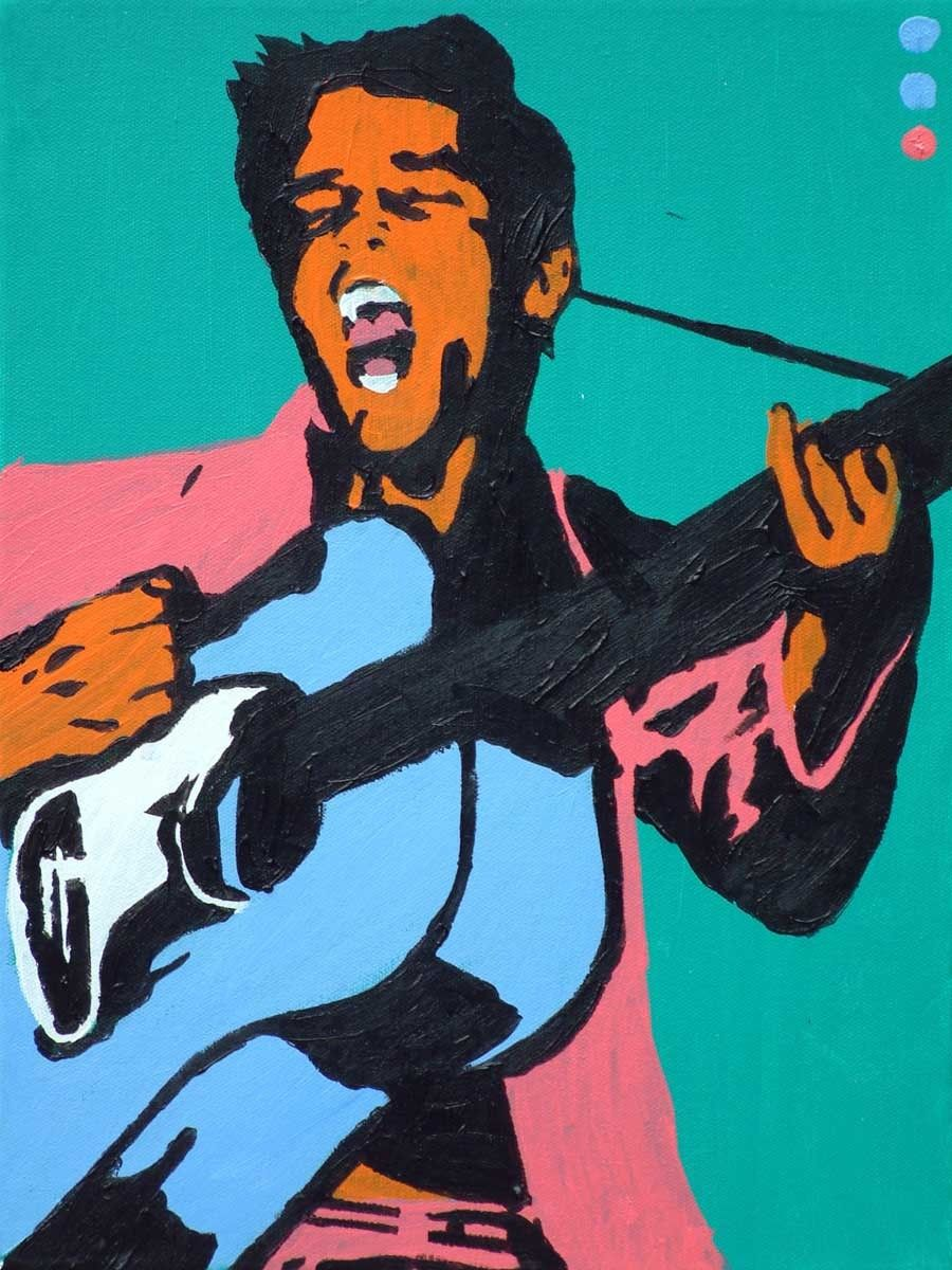 Pop art elvis