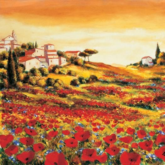 Richard Leblanc Valley of Poppies