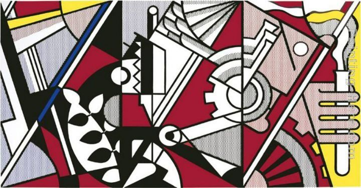 Roy Lichtenstein Peace Through Chemistry