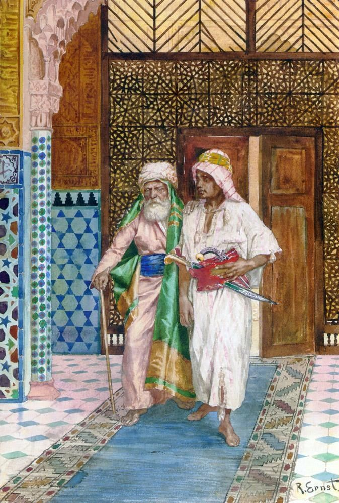 Rudolf Ernst Returning Home