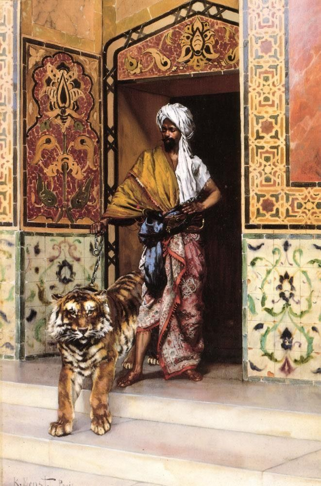 Rudolf Ernst The Pasha's Favourite Tiger