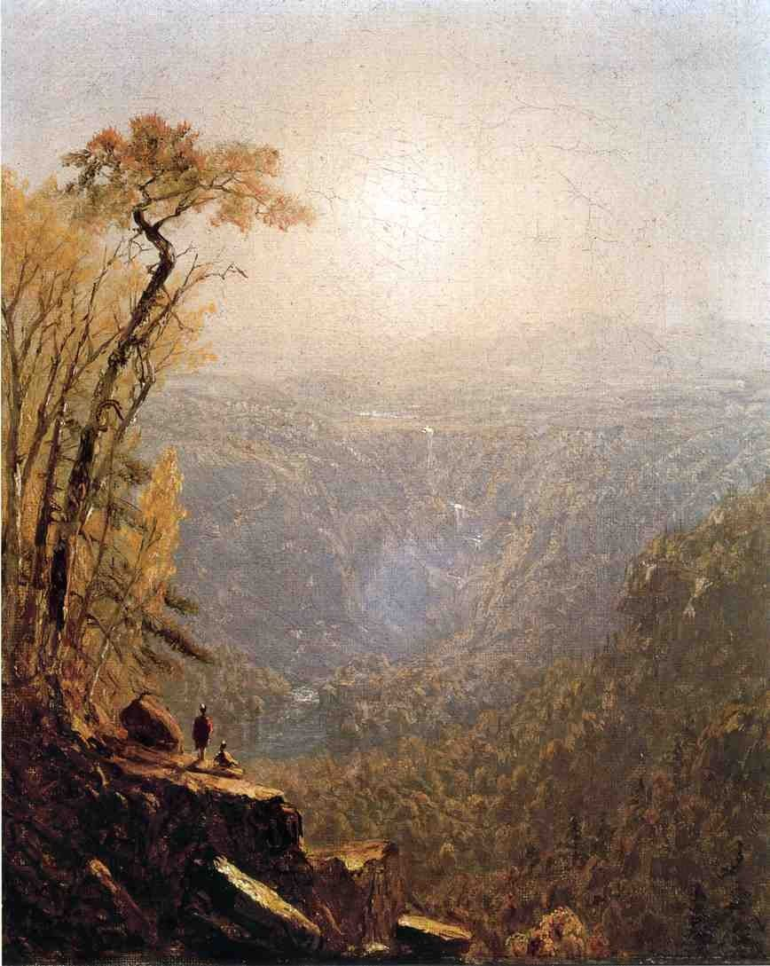 Sanford Robinson Gifford Kauterskill Clove, in the Catskills