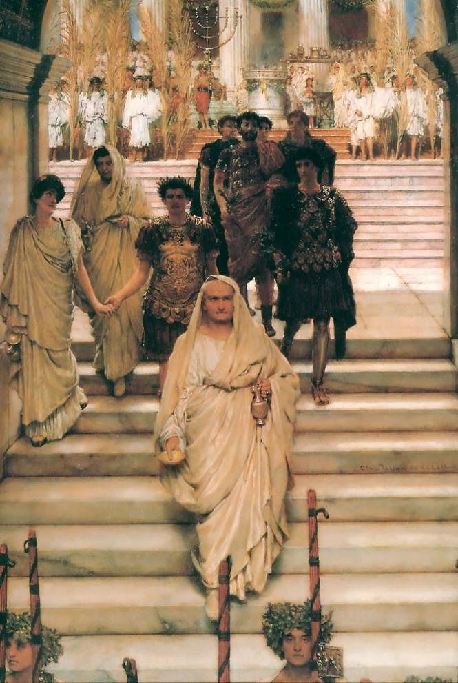 Sir Lawrence Alma-Tadema The Triumph of Titus