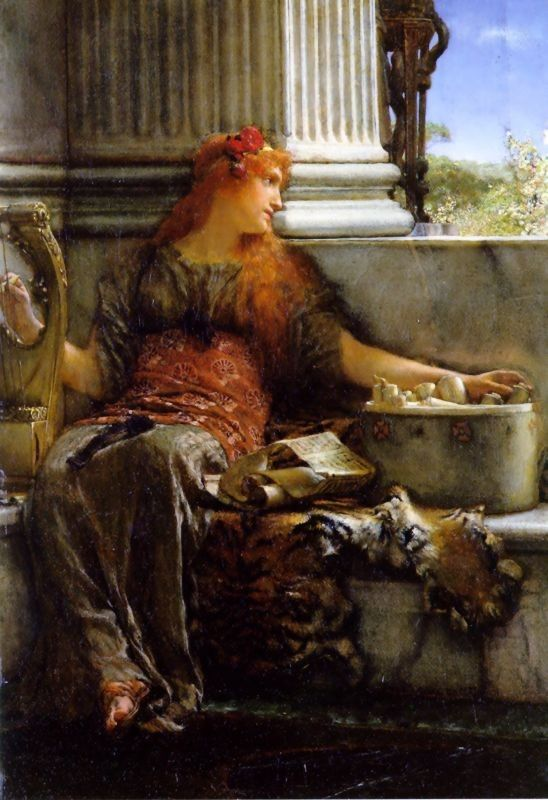 Sir Lawrence Alma-Tadema poetry