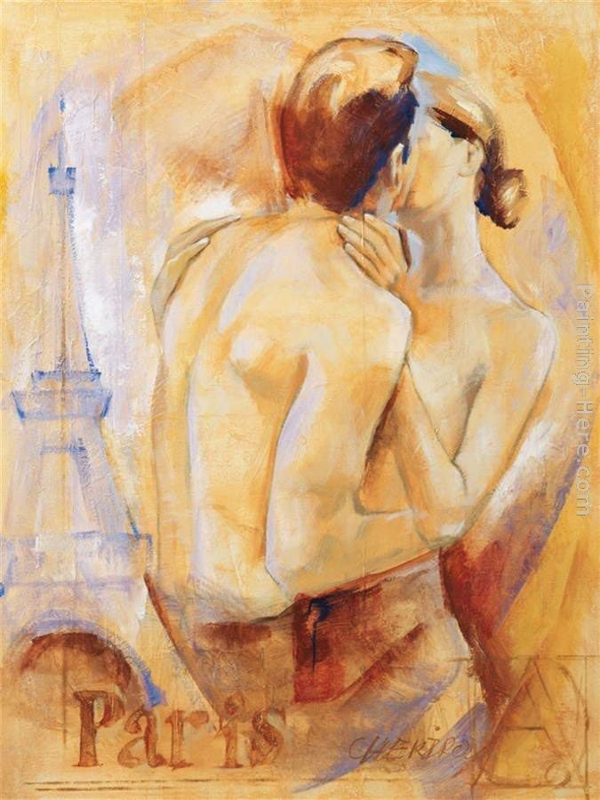 Talantbek Chekirov Kiss in Paris