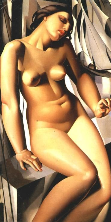 Tamara de Lempicka Nude with Sails