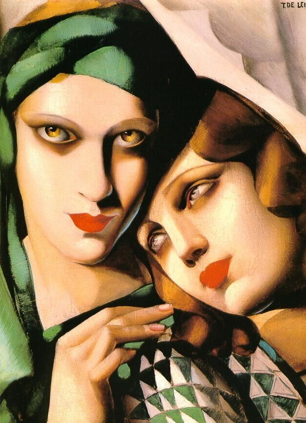Tamara de Lempicka The Green Turban