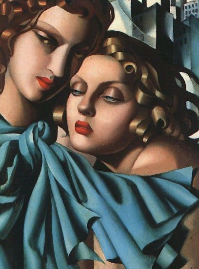 Tamara de Lempicka Two Girls