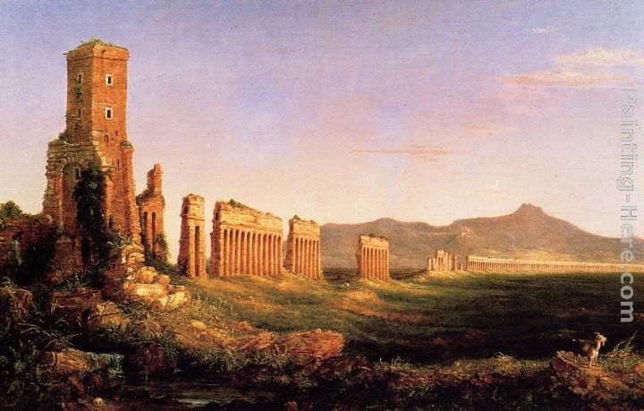 Thomas Cole Aqueduct near Rome