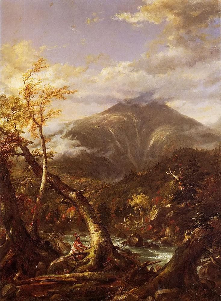 Thomas Cole Indian Pass Tahawus