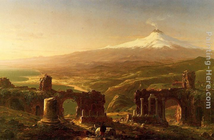 Thomas Cole Mount Etna from Taormina