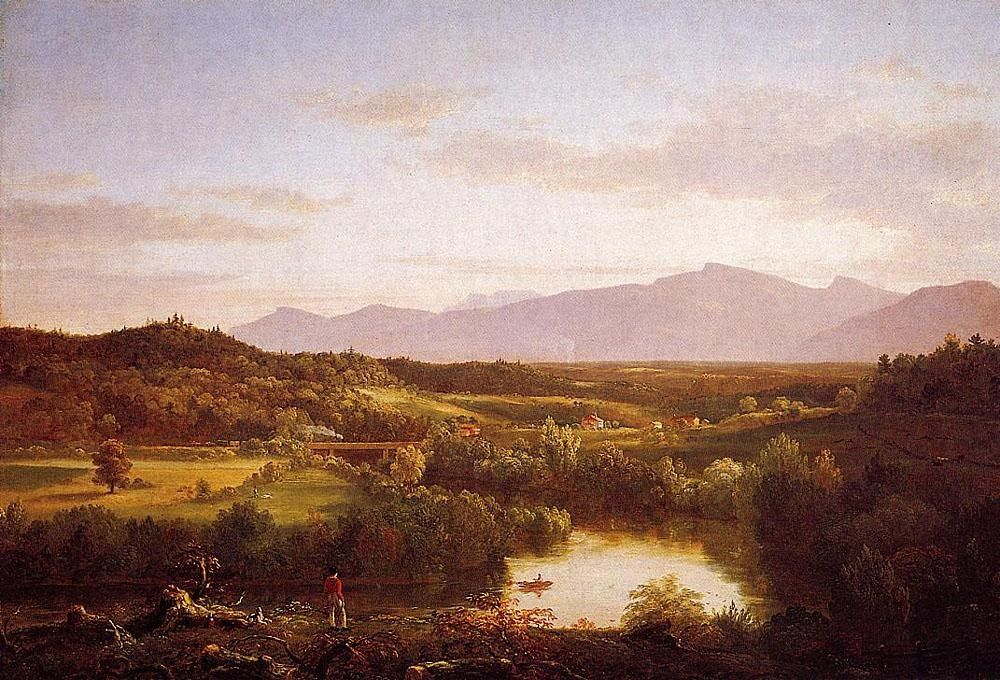 Thomas Cole River in the Catskills