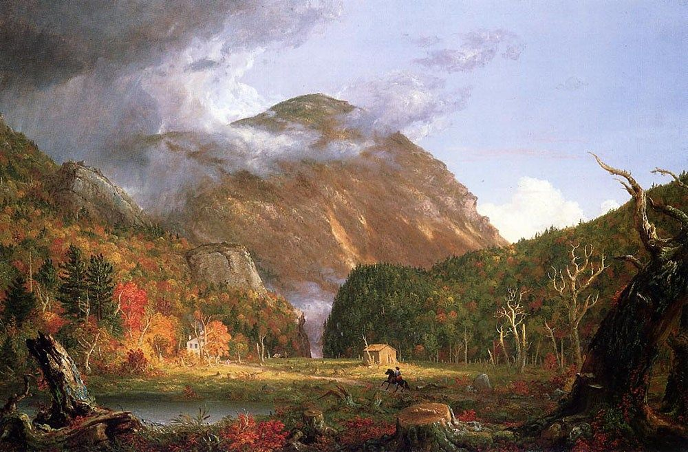 Thomas Cole The Notch of the White Mountains (Crawford Notch)
