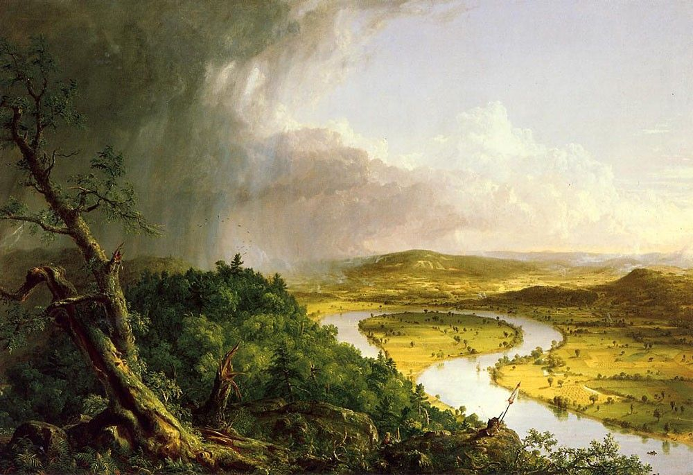Thomas Cole The Oxbow