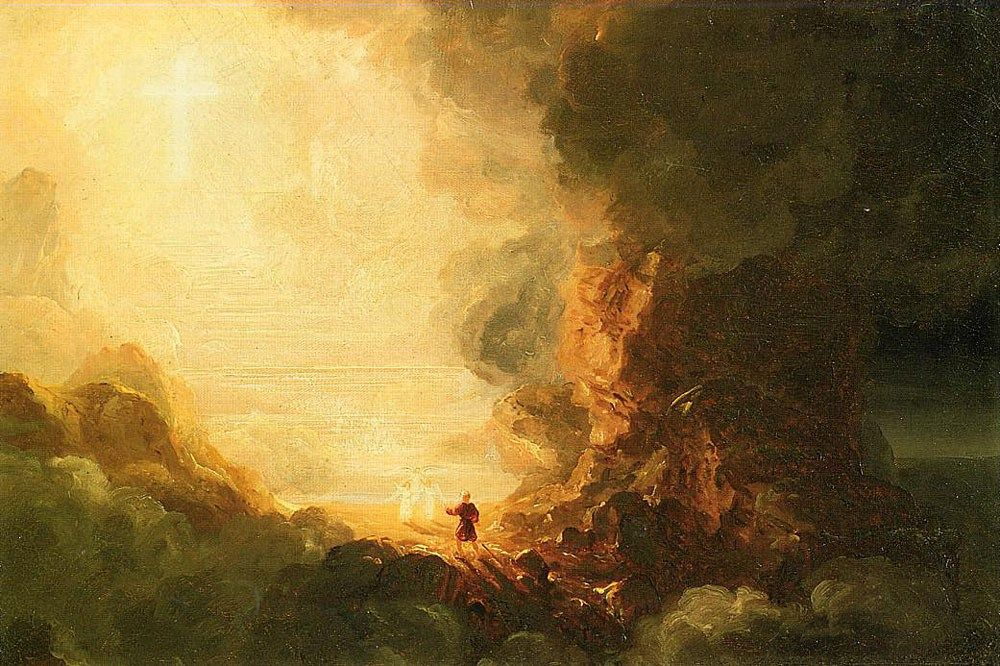 Thomas Cole The Pilgrim of the Cross at the End of His Journey