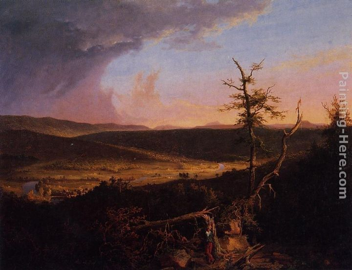 Thomas Cole View on the Schoharie