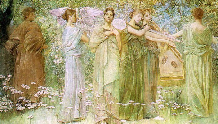 Thomas Dewing The Days