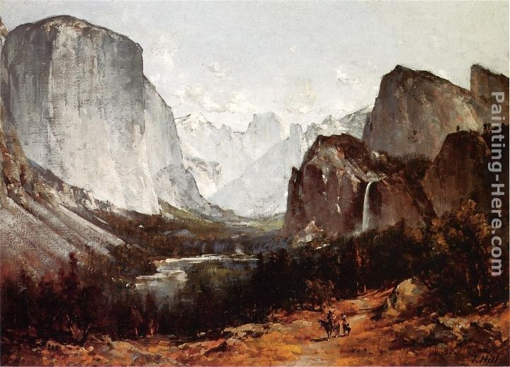 Thomas Hill A View of Yosemite Valley
