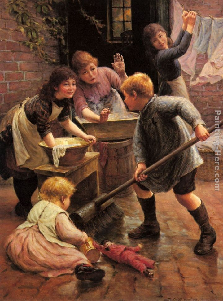 Thomas Liddall Armitage Washing Day