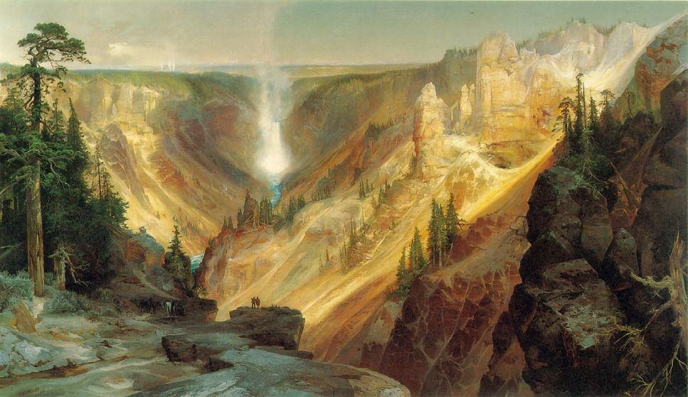 Thomas Moran Grand Canyon of the Yellowstone