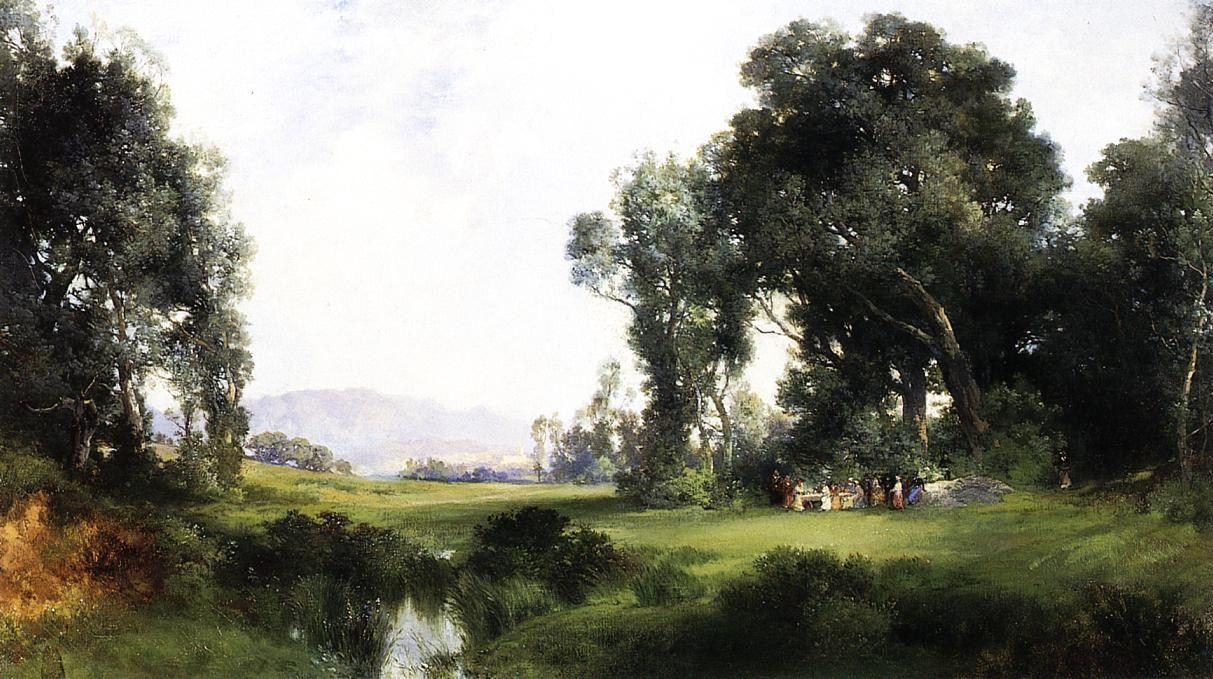 Thomas Moran The Picnic