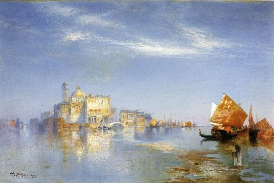 Thomas Moran View of Venice