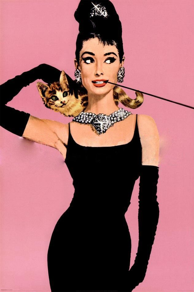 Unknown Artist Audrey Hepburn pop art