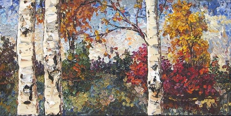 Unknown Artist Maya Eventov Colours of Autumn
