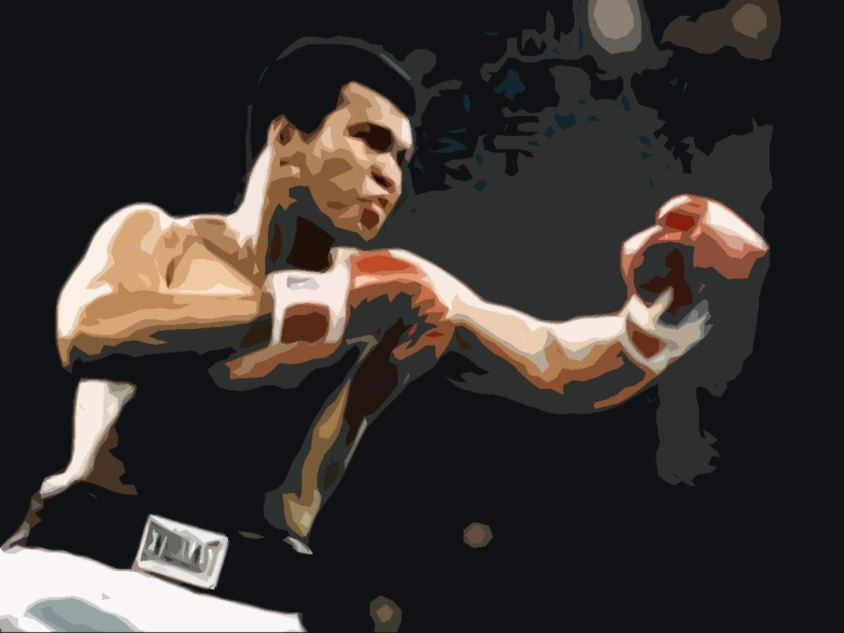 Unknown Artist Muhammad Ali pop art