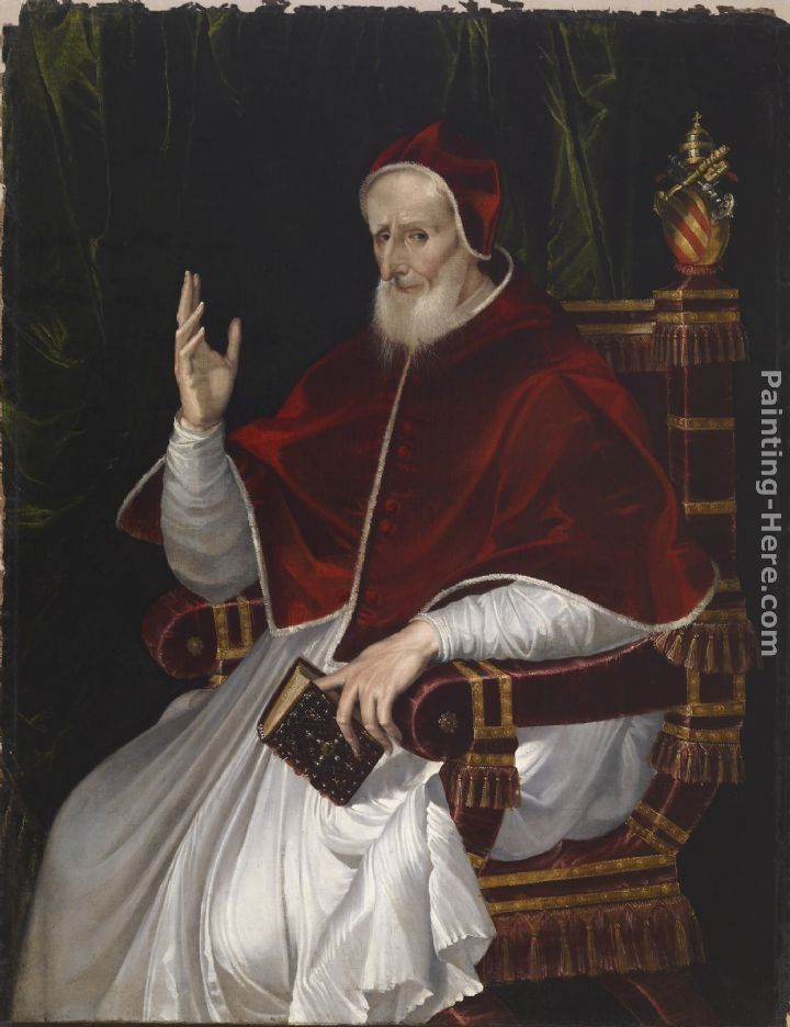 Unknown Artist Portrait of Pope Pius V