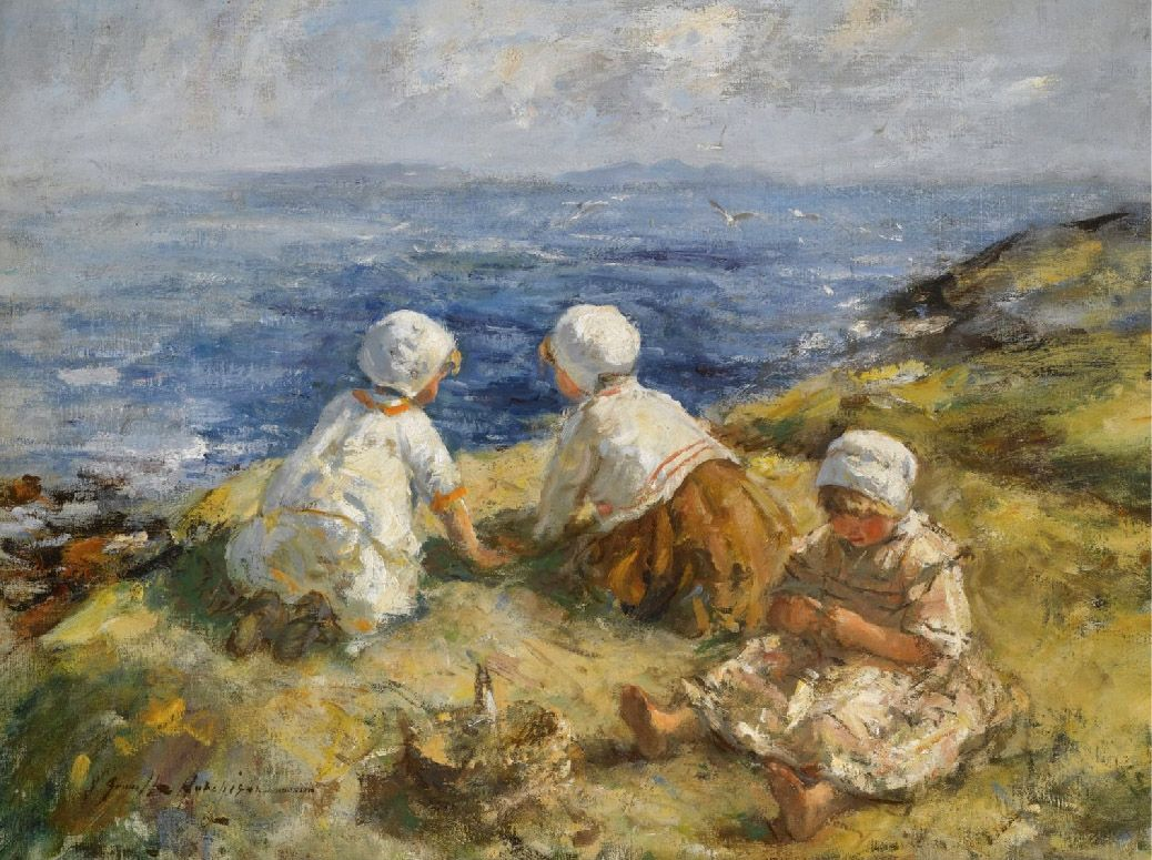 Unknown Artist Summer on the Clifftops