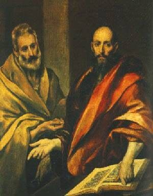 Unknown Artist The Apostles Peter and Paul