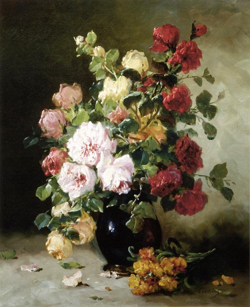 Famous Flower Paintings Flowers Oil Painting Artist