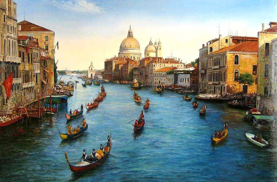 Unknown Artist Venice Grand Canal