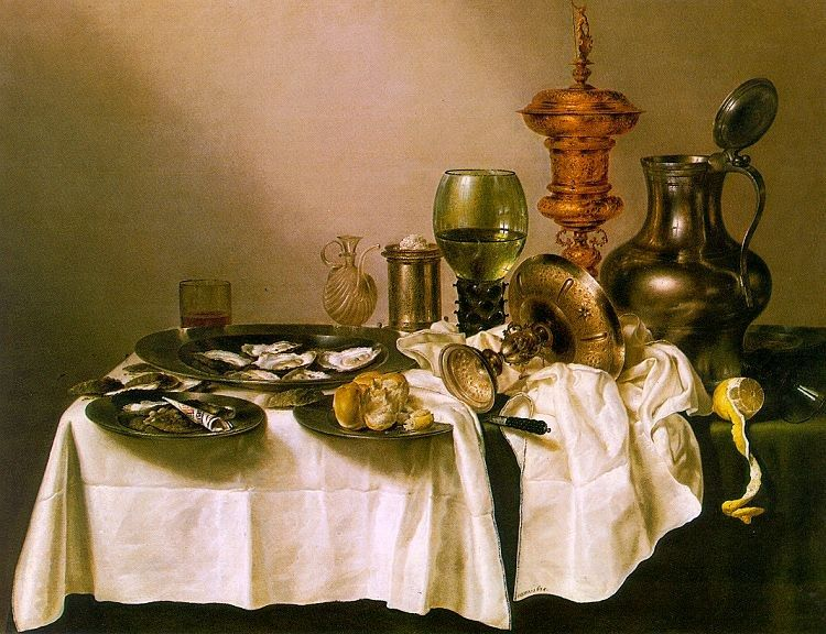 Unknown Artist heda Still Life with a Gilt Goblet