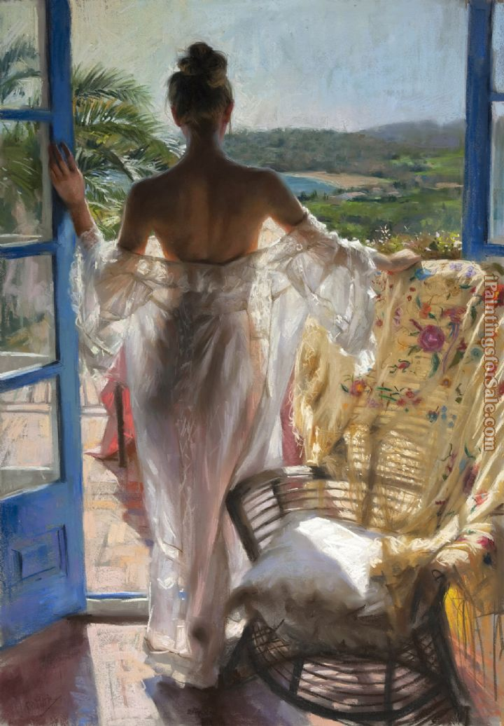 Vicente Romero Redondo holiday in village