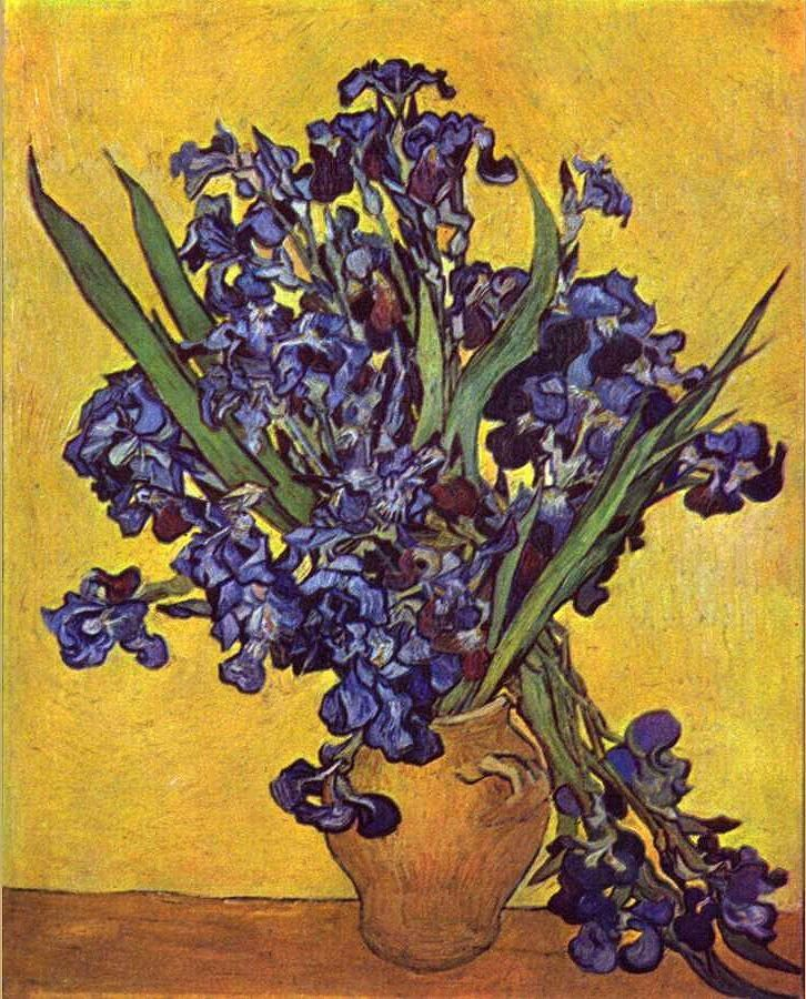 Vincent van Gogh Still Life with irises
