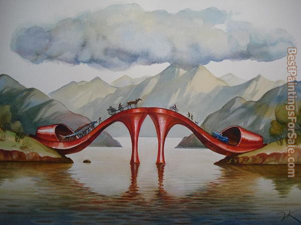Vladimir Kush Fashionable Bridge