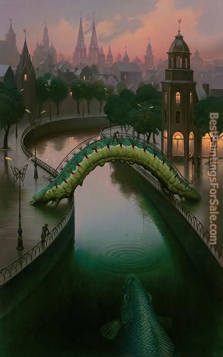 Vladimir Kush Fish in the City