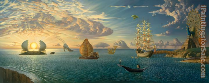 Vladimir Kush Mythology of the Oceans and Heavens