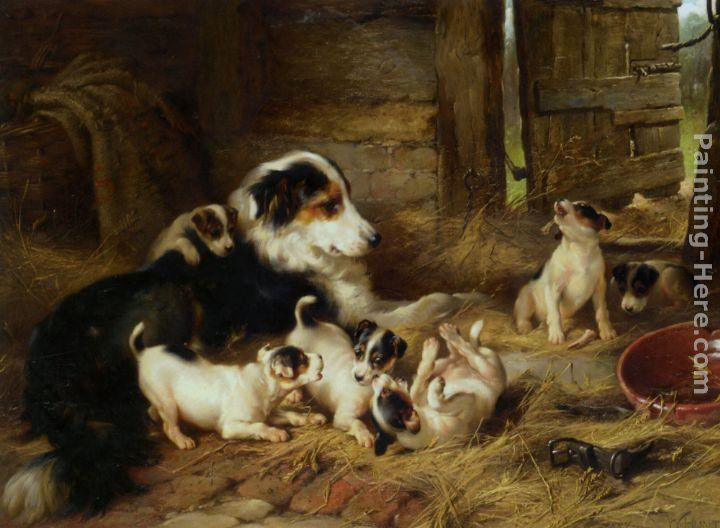 Walter Hunt The Foster Mother