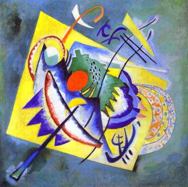 Wassily Kandinsky Red Oval