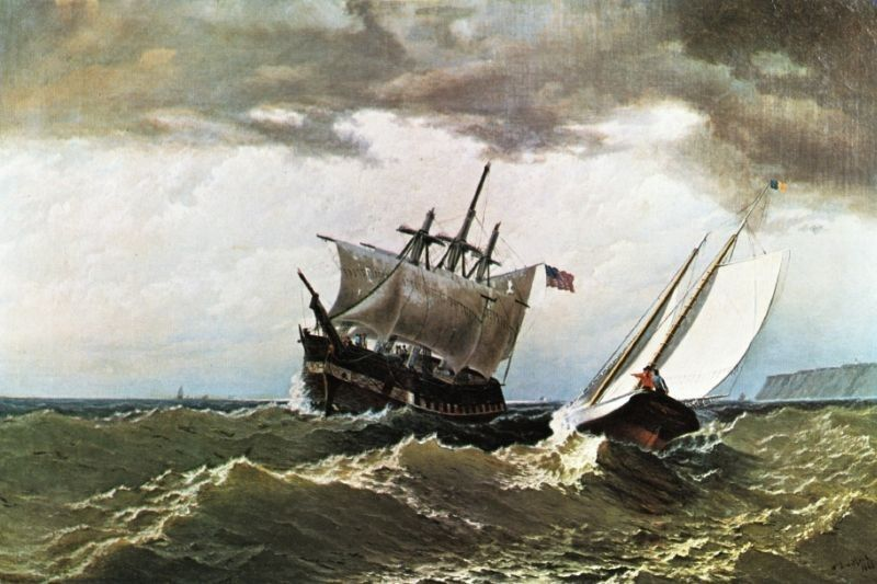 William Bradford After the Storm