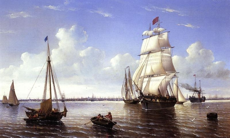 William Bradford Boston Harbor