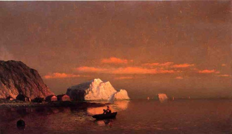 William Bradford Fishermen off the Coast of Labrador sunset