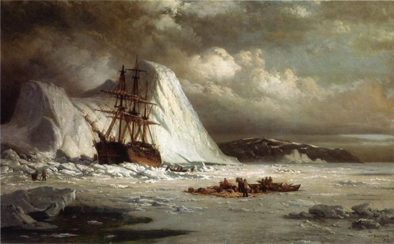William Bradford Icebound Ship