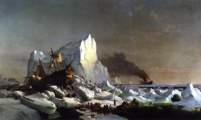 William Bradford Sealers Crushed by Icebergs