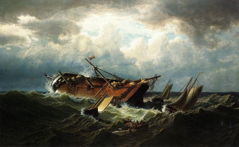 William Bradford Shipwreck off Nantucket