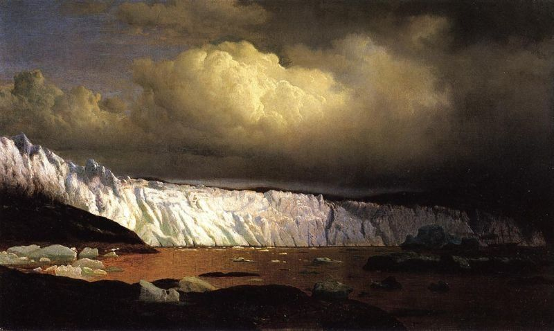 William Bradford View of Sermitsialik Glacier